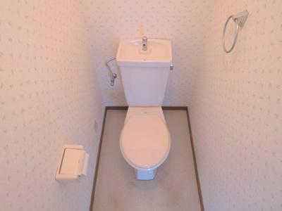 【トイレ】ハイツニシタニ