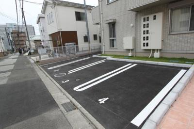 【駐車場】ハピネス柏木
