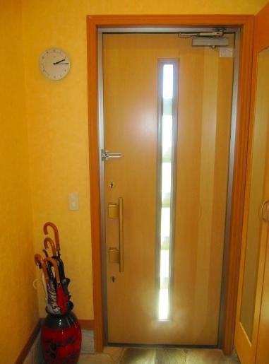 光こぼれる明るい玄関☆彡