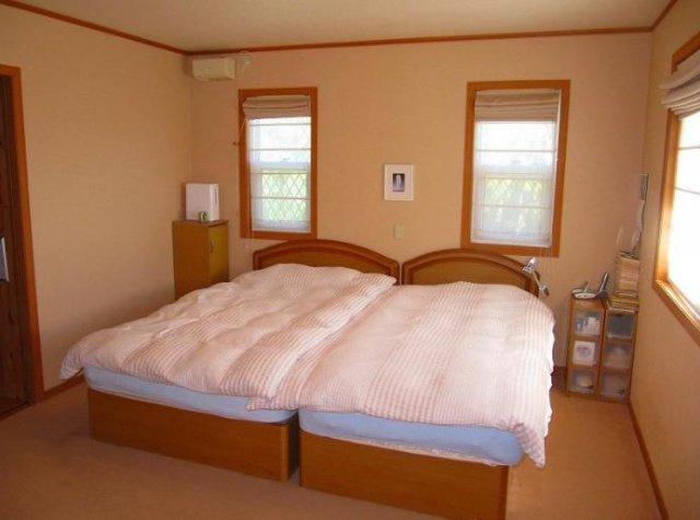 大きいベッドも置けちゃう広い寝室☆彡