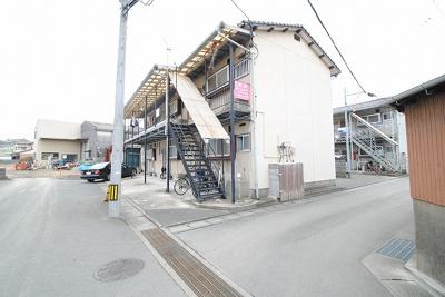【外観】秋山アパート