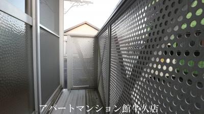 【バルコニー】ハイツ・若草