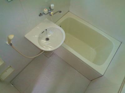 【浴室】ホワイトハイツ 1F