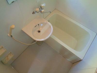 【浴室】ホワイトハイツ 2F