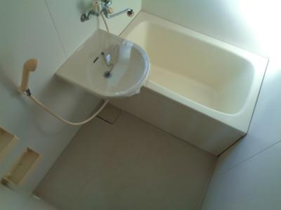 【浴室】ホワイトハイツ 3F