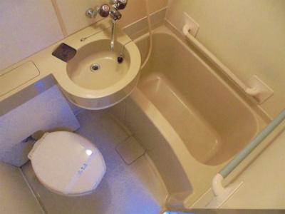 【浴室】シティホームズ針中野P1