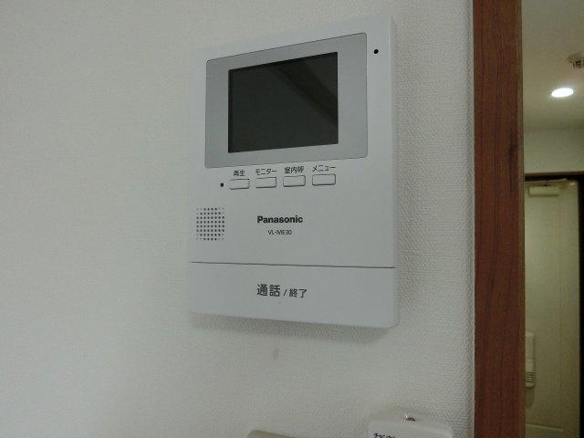 オレンジハウス1(柏原市国分西) TVモニターホン