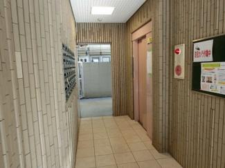 オレンジハウス1(柏原市国分西) エレベーターホール