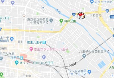 【地図】クレイノタイキョウ(57465-302)
