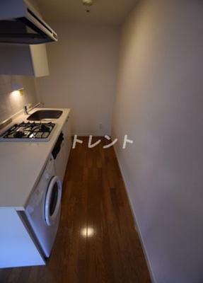 【キッチン】レジディアタワー麻布十番