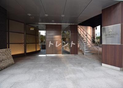 【エントランス】レジディアタワー麻布十番