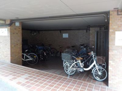 スカイプラザ赤坂 自転車置場