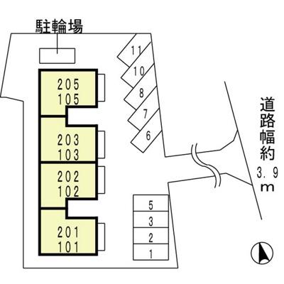 【区画図】清峯荘