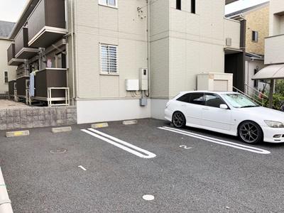 【駐車場】メゾン・ディアベルジュ