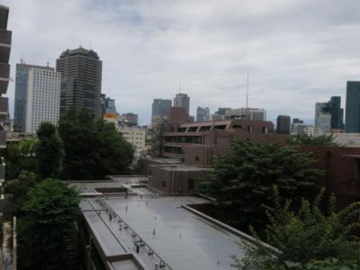 スカイプラザ赤坂 洋室からの眺望