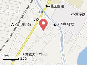 【地図】パレス衣川