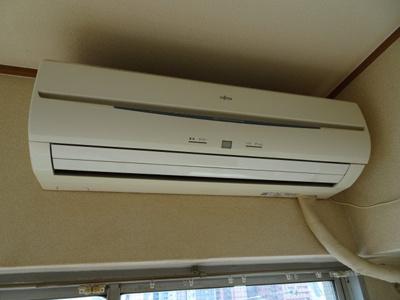 根岸武蔵野マンション エアコンもしっかり完備