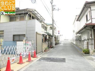 【前面道路含む現地写真】神戸市西区持子3丁目 ファーストタウン 新築戸建