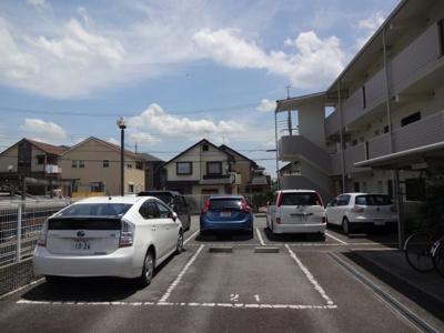 【駐車場】サンシャイン西山