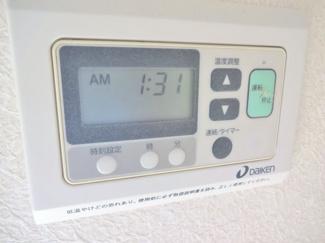 床暖房付き