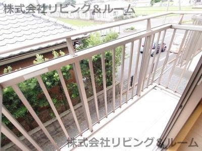 【バルコニー】ファンテン・ヴィラ D
