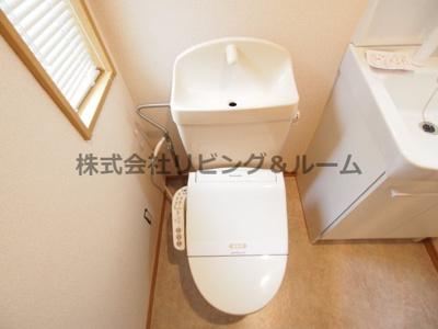 【トイレ】ファンテン・ヴィラ D