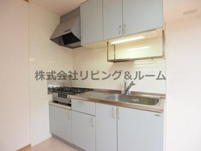 【キッチン】ファンテン・ヴィラ D