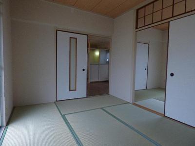 【寝室】東別府コーポ