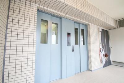 エレベーター コスモ上野パークサイドシティ