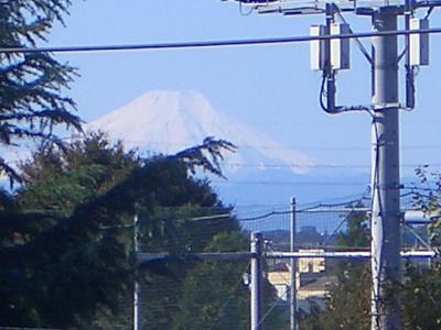 眺望 富士山が見えます。