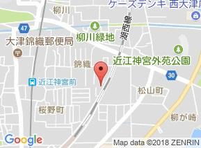 【地図】アメニティナナA棟