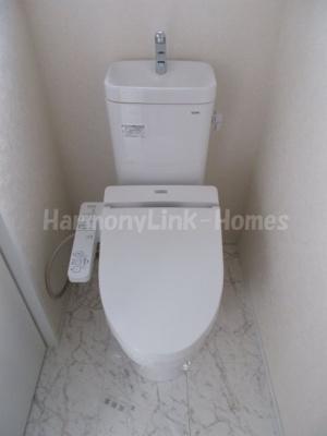 サークルハウス中落合のシンプルで使いやすいトイレです☆