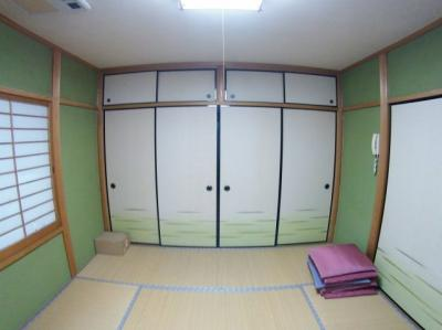 2F和室収納