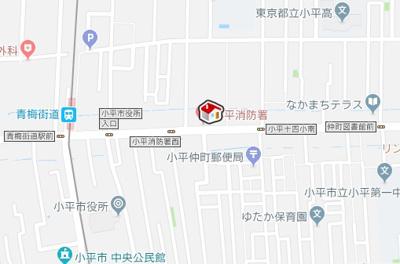 【地図】レオネクストケービック(54285-203)
