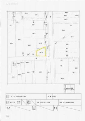 【地図】寝屋川市讃良東町 売土地