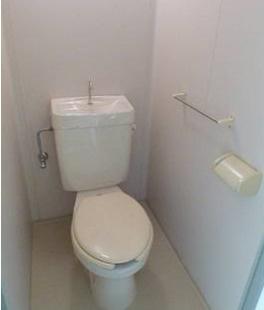 こちらがトイレになります