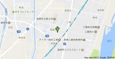 【地図】シェモア 株式会社Roots