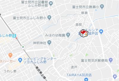 【地図】レオパレスゼルコバ(35679-205)
