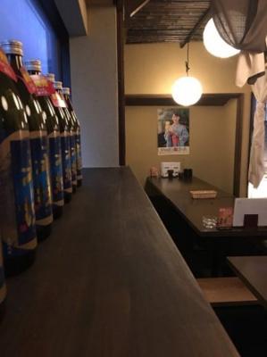 大名越智店舗(1-2F) 古民家風居酒屋の内装