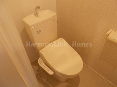 ゆったりとした空間のトイレです☆