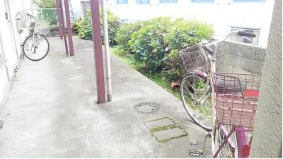 十条ローゼンハイムの駐輪スペース☆