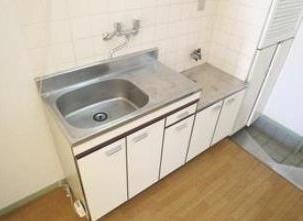 十条ローゼンハイムのキッチンでお料理をお楽しみください(2口ガスコンロ設置可)☆