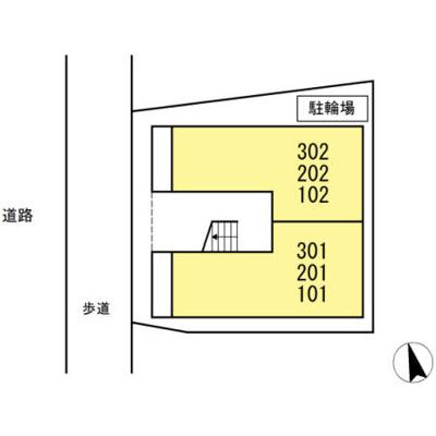 【区画図】シャトレー蒲田