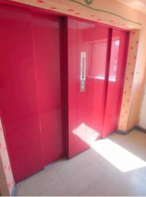 ロマネスク大名(2DK) エレベーターは二基設置してあります