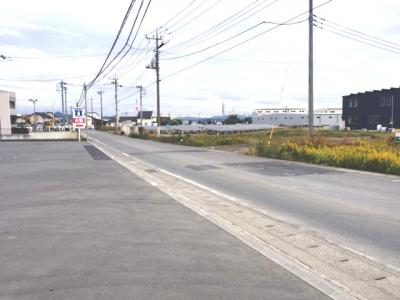 【外観】太田市東金井町売地