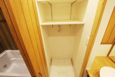朝日プラザ薬院(1LDK) 洗濯機置場は扉付き