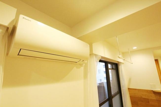 朝日プラザ薬院(1LDK) エアコン新設