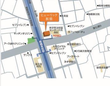 【地図】ヒューリックイタバシ