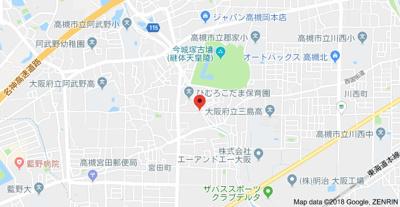 【地図】ハイツ真田