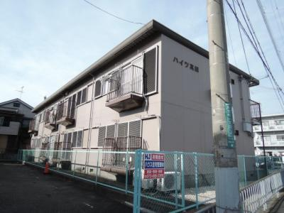 【外観】ハイツ真田